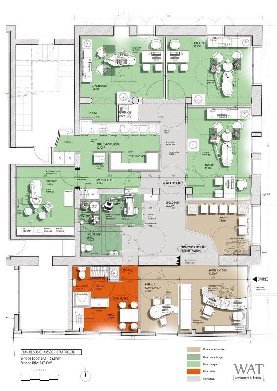 Célèbre Nouveaux paradigmes d'un cabinet dentaire en architecture CE22